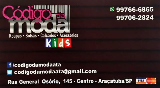 Código da Moda Moda Adulto Moda Infantil Araçatuba 629ce09983c